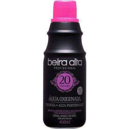 Beira Alta Água Oxigenada Black 20vol Creme 450ml (kit C/03)