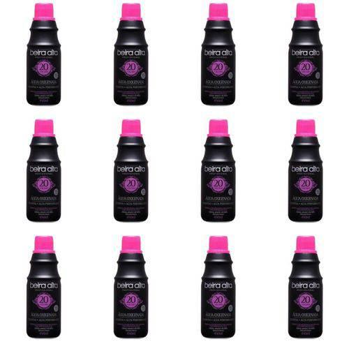 Beira Alta Água Oxigenada Black 20vol Creme 450ml (kit C/12)