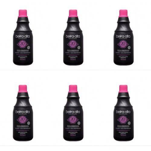 Beira Alta Água Oxigenada Black 20vol Creme 900ml (kit C/06)