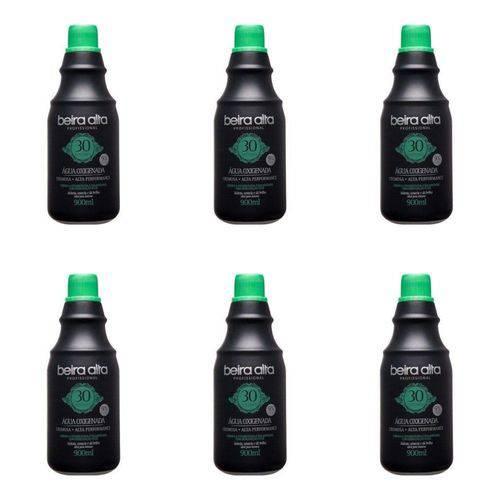 Beira Alta Água Oxigenada Black 30vol Creme 900ml (kit C/06)