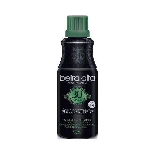 Beira Alta Água Oxigenada Black 30vol Creme 90ml (kit C/03)