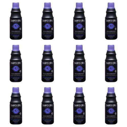 Beira Alta Água Oxigenada Black 40vol Creme 450ml (kit C/12)