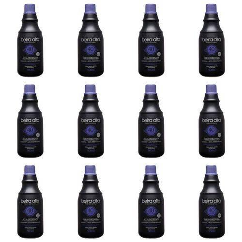 Beira Alta Água Oxigenada Black 40vol Creme 900ml (kit C/12)