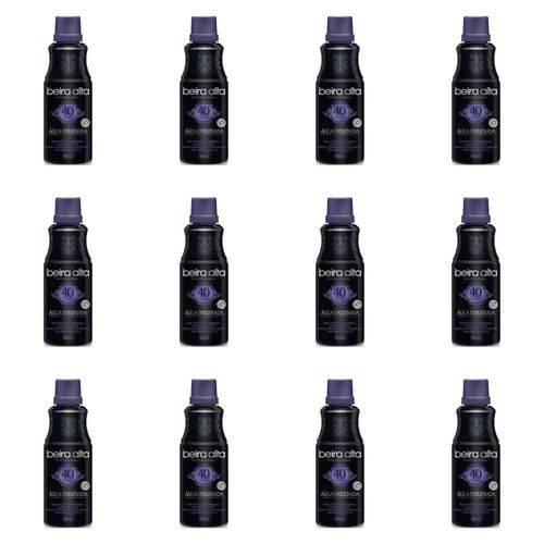 Beira Alta Água Oxigenada Black 40vol Creme 90ml (kit C/12)