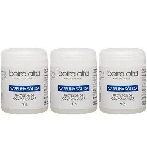Beira Alta Vaselina Sólida 90g (kit C/03)