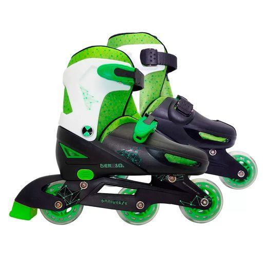 Ben 10 Patins Ajustável P - Astro Toys