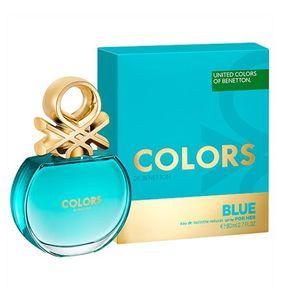 Benetton Colors Blue Eau de Toiltte Feminino 50ml