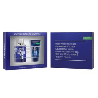 Benetton Colors Men Blue Kit - Eau de Toilette + Pós-Barba Kit