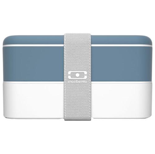 Bento Porta-refeição C/ 3 Pçs Ultramarine Profundo/branco