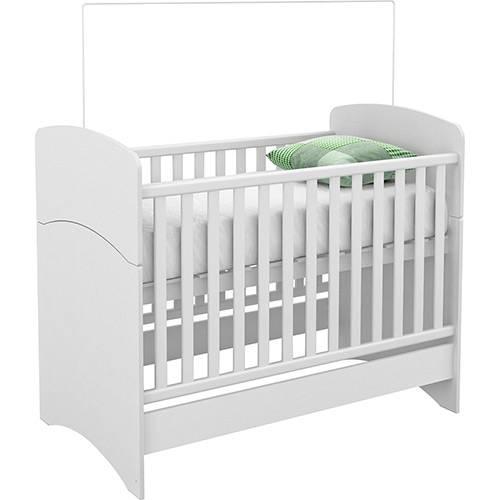 Berço 1r3055 Branco Infantil Multifuncional - Rodial