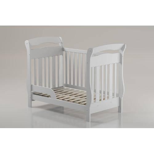 Berço Bambini Branco-Brilho Matic Móveis