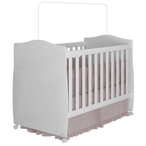 Berço Mini Cama Conforto Permobili Branco