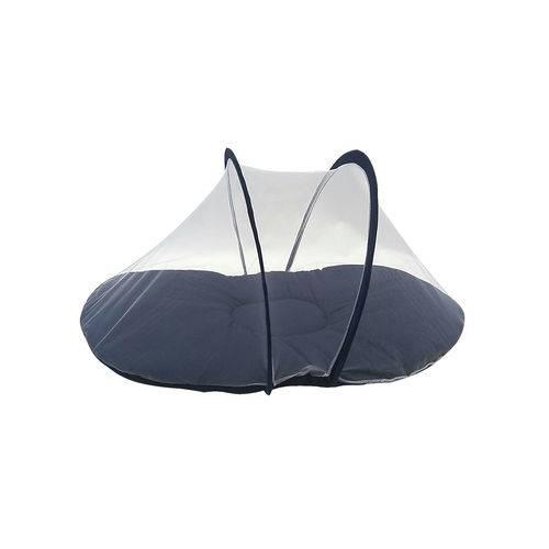 Berço Tenda Portátil com Mosquiteiro Azul Marinho
