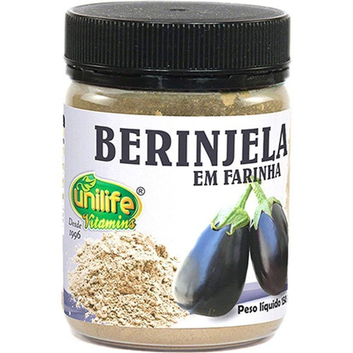 Berinjela em Farinha 150g - Unilife