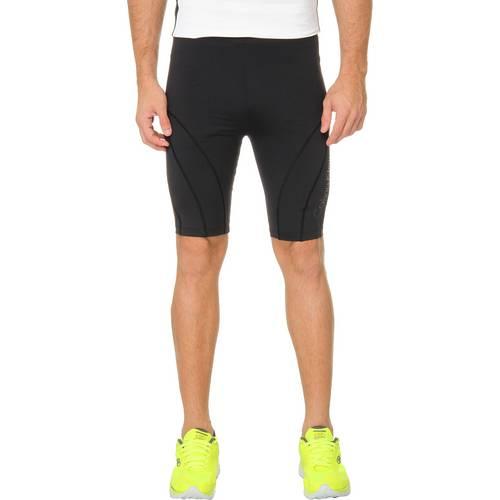 Bermuda Ciclista Calvin Klein Jeans Recortes e Logo