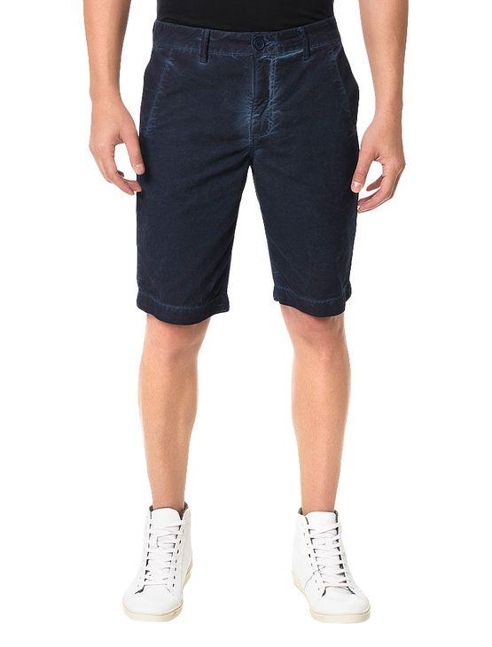 Bermuda Color Calvin Klein Jeans Five Pockets Marinho - 40