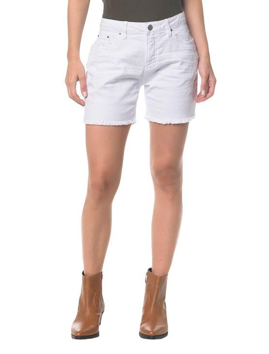 Bermuda Color Five Pockets - Branco 2 - 34