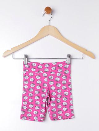 Bermuda Infantil para Menina - Rosa Pink