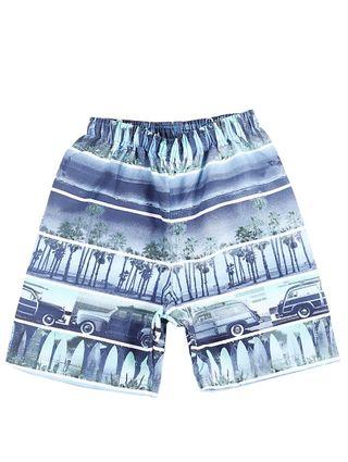 Bermuda Infantil para Menino - Azul