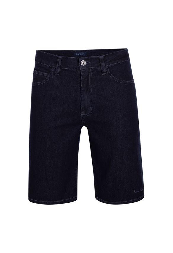 Bermuda Jeans Azul com Lycra 40