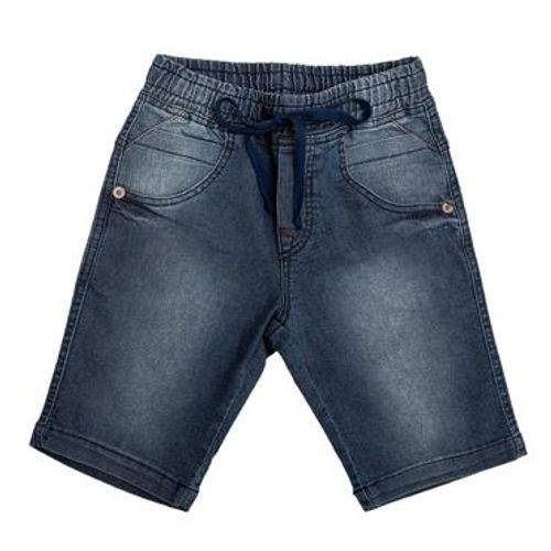 Bermuda Jeans com Elástico - 6
