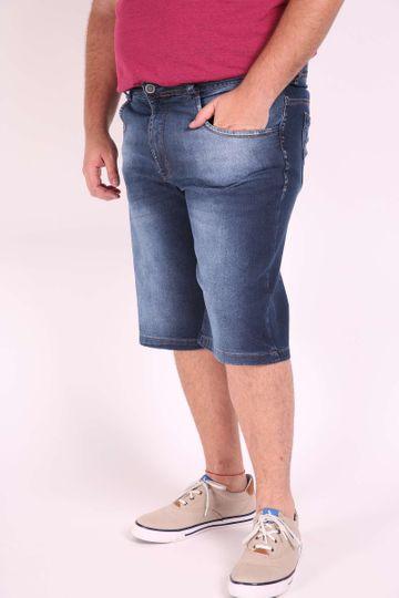 Bermuda Jeans Confort Plus Size 48