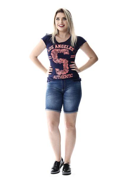 Bermuda Jeans Feminina Push Up - 256226 36