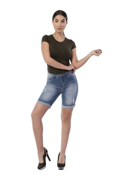 Bermuda Jeans Feminino - 261734 36