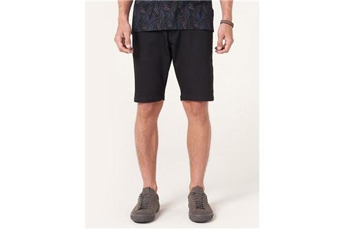 Bermuda Jeans Five Pockets Power - Preto - 40