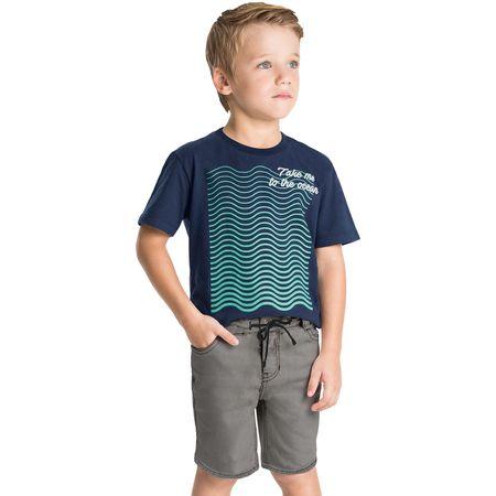 Bermuda Jeans Infantil Masculina Milon M6109.6799.1