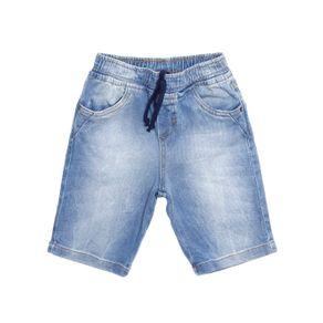 Bermuda Jeans Infantil para Menino - Azul 10