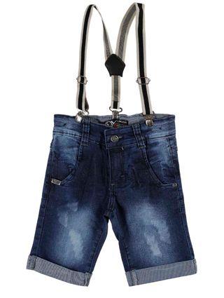 Bermuda Jeans Infantil para Menino -