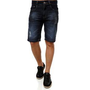 Bermuda Jeans Masculina Azul 40