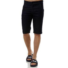 Bermuda Jeans Masculina Azul 44