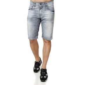 Bermuda Jeans Masculina Azul 36