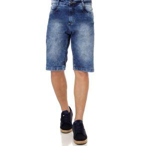 Bermuda Jeans Masculina Azul 38
