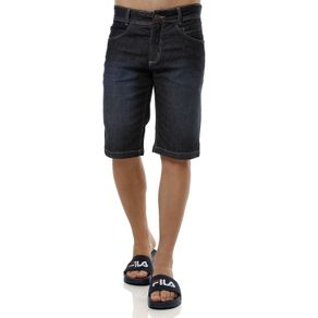 Bermuda Jeans Masculina Elétron Azul 38