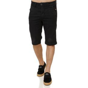 Bermuda Jeans Masculina Preto 38
