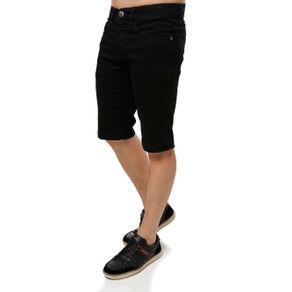 Bermuda Jeans Masculina Vels Preto 44