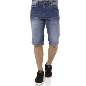 Bermuda Jeans Masculina Zune Azul 36