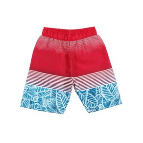 Bermuda Juvenil para Menino - Vermelho/azul 16