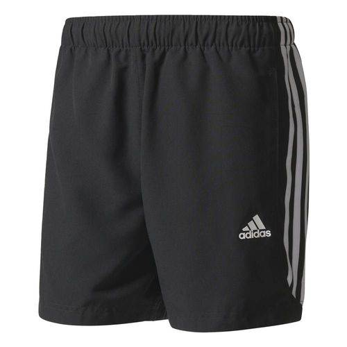 Bermuda Masculina Adidas Dry Fit 3SS S88113 Preto/Branco P