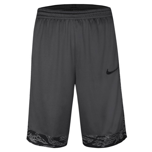 Bermuda Nike Masculina Basquete Dry Courtlines AT3171-060 AT3171060