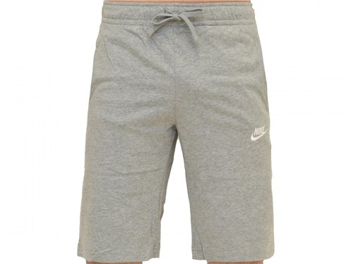Bermuda Nike Moletom Nsw Short Club Cinza