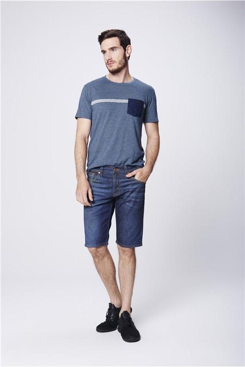 Bermuda Skinny Jeans Masculina