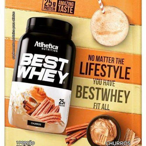 Best Whey - 1 Sachê 35g Churros - Atlhetica Nutrition