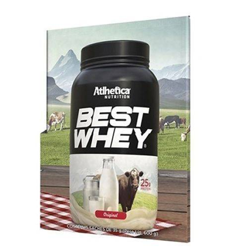 Best Whey - 1 Sachê 35g Original - Atlhetica Nutrition