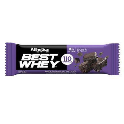 Best Whey Bar 30g Atlhetica Nutrition Best Whey Bar 30g Brownie de Chocolate Atlhetica Nutrition