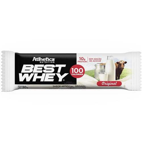 Best Whey Bar (unidade-33g) Atlhetica Nutrition
