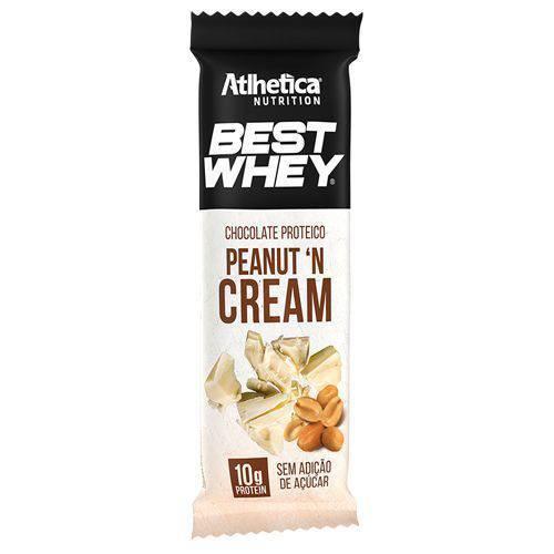 Best Whey Chocolate Proteico - 1 Unidade de 50g Chocolate Branco com Paçoca - Atlhetica Nutrition